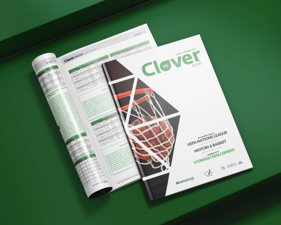 The Clover Magazine, scommesse sportive, slot, poker online, quote calcio Betaland