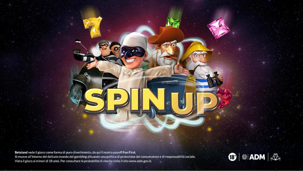 Video-Bar-Slot-Machine--SpinUp9-Bonus-Casino-Promozioni-Betaland-TheClover