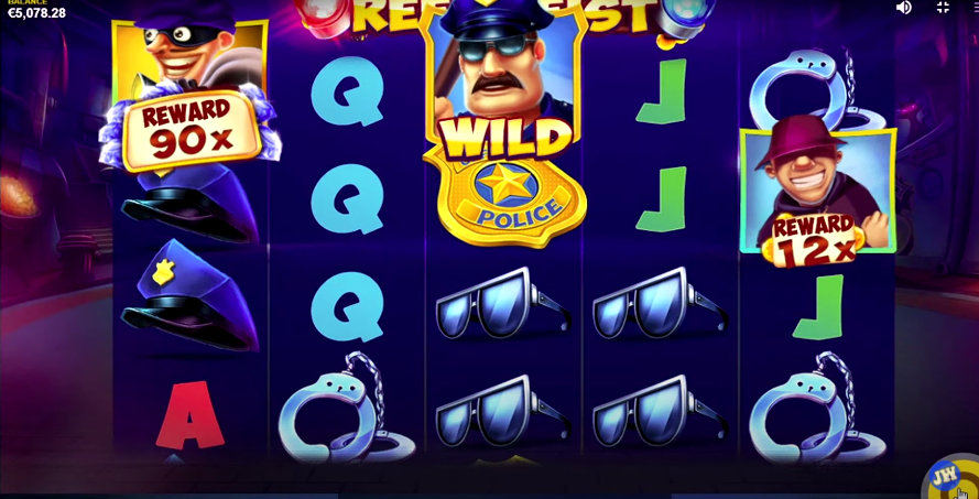 Simbolo-Wild-Reel-Heist-Slot-Machine-Betaland-TheClover