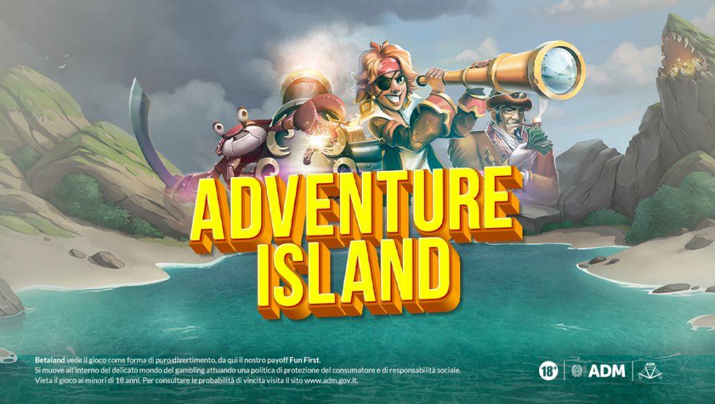 Betaland-Bonus-Promozioni-Adventure-Island-TheClover